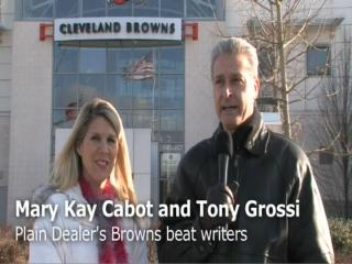 Mary Kay Cabot and Tony Grossi Browns update - week 14
