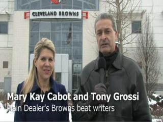 Mary Kay Cabot and Tony Grossi Browns update - week 17