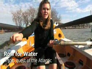 Katie Spotz attempts solo row of Atlantic