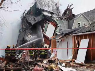 Explosion Levels House on Cleveland's West Side