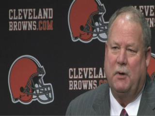 Mike Holmgren introduced as Cleveland Browns president