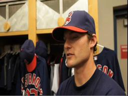 Cleveland Indians catcher talks about last season and outlook for 2010.
