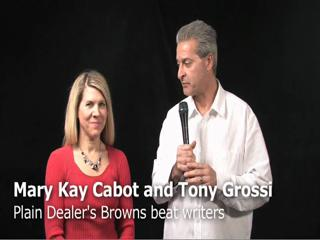 Mary Kay Cabot and Tony Grossi analyze recent moves by the Browns