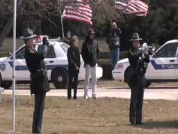 Burial for Elyria patrolman James A. Kerstetter