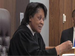 Judge Saffold and attorney Sims square off in court