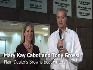 NFL Draft: Mary Kay Cabot and Tony Grossi talk about 3rd round pick Colt McCoy
