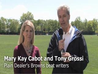 Tony Grossi and Mary Kay Cabot analyze Browns OTA - week 1