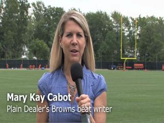 Mary Kay Cabot gives an update on the Cleveland Browns during their third week of OTAs