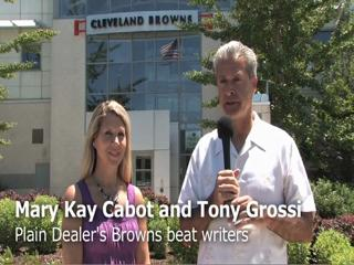 Tony Grossi and Mary Kay Cabot discuss the Browns first day of minicamp