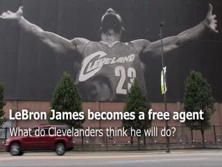 LeBron James becomes a free agent: What do Clevelanders think?
