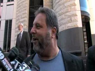 Jimmy Dimora reacts after arraignment in federal court
