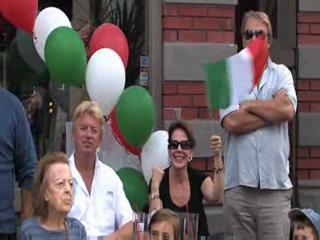 Columbus Day Parade in Little Italy