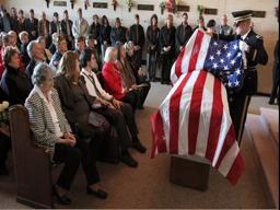 World War II airman Michael Chiodo laid to rest.