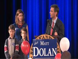 County executive candidate Matt Dolan concedes the election