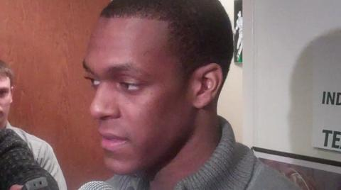 Rajon Rondo talks about his return