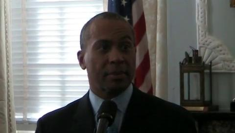 Gov. Patrick discusses resignation of UMass board chairman Robert Manning