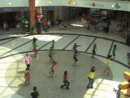Flash mob breaks out at Southpark Mall