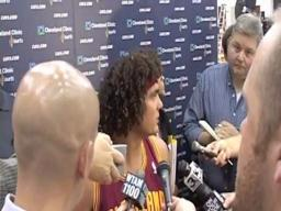 Anderson Varejao on the Heat