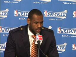 Cavaliers post-game interviews: LeBron James
