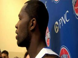 2010 Detroit Pistons Media Day - Rodney Stuckey