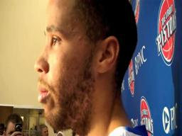 2010 Detroit Pistons Media Day - Tayshaun Prince