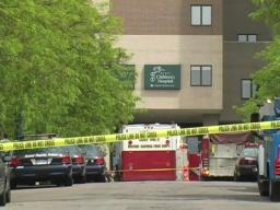 Helicopter crashes at Grand Rapids hospital