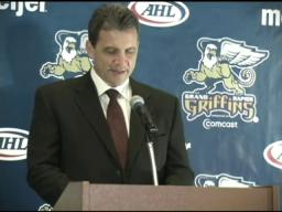 Griffins introduce Curt Fraser as next coach
