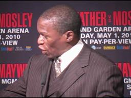 Floyd Mayweather Sr.: Shane Mosley in 'trouble' because he's got 'no defense'