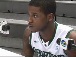 Michigan State's Korie Lucious: 'I made a mistake'