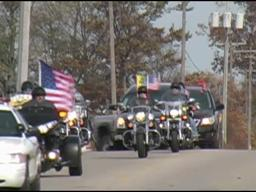 Funeral procession in Greenville for U.S. Army Spc. Joseph T. Prentler, killed in Afghanistan