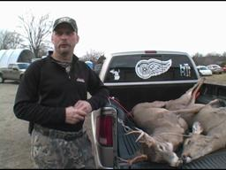 Wyoming's Tony Brown nails doe, buck on opening day