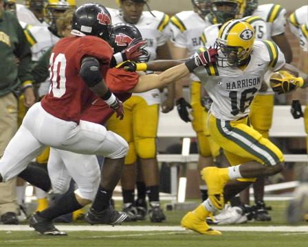 Division 2 football state final: Farmington Hills Harison 38, Lowell 28