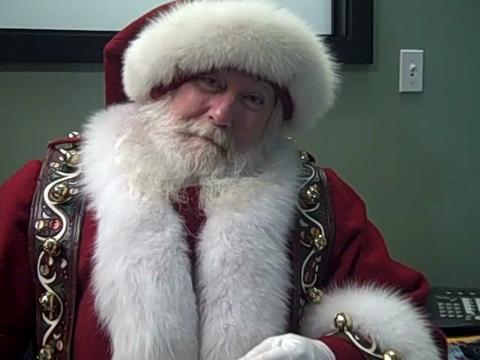 Macy's official Santa in Grand Rapids