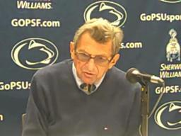 Penn State coach Joe Paterno: Rob Bolden 'had trouble remembering some things'