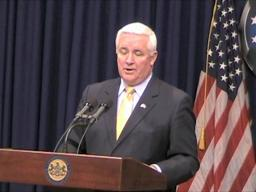 Gov. elect Tom Corbett on balancing budget
