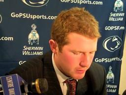 Penn State QB Matt McGloin on offense's second-half struggles at Ohio State