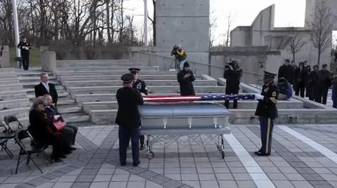 WWI soldier laid to rest