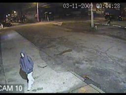 Surveillance video outside Staten Island's My Deli