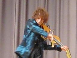 Alexander Markov violinist plays Tottenville High School
