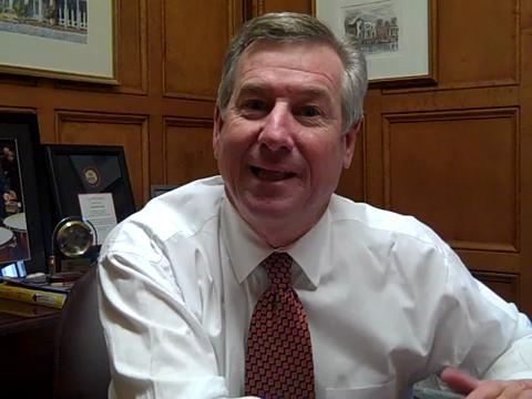 Montgomery Mayor Todd Strange's New Year's resolutions