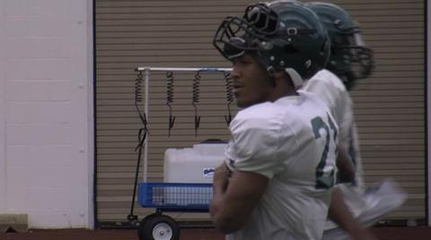 Oregon Ducks video: LaMichael James returns to practice