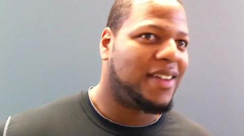 Ndamukong Suh talks about his hopes for the Oregon Ducks in the national championship game