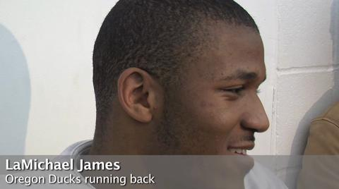 Oregon Ducks video: Will LaMichael James return to Oregon?