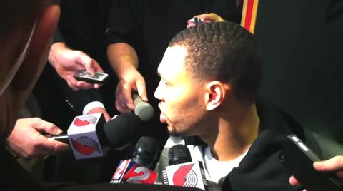 Trail Blazers: Brandon Roy talks about his balky knees