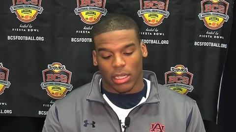 BCS National Championship: Auburn press conference -- Cam Newton