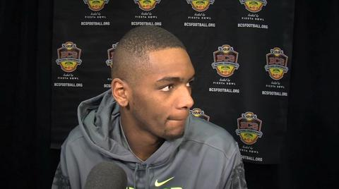 BCS National Championship: Ducks QB Darron Thomas