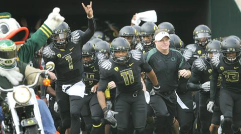 The Oregon Ducks' march to the BCS National Championship game