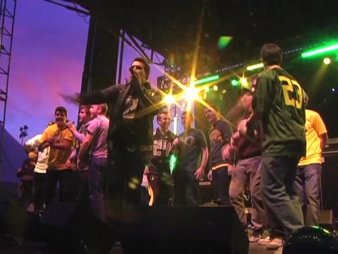 Oregon pep rally: On the Rocks