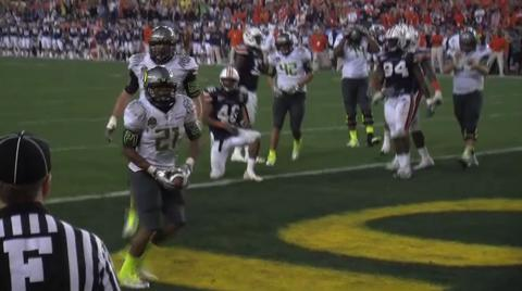 BCS National Championship: Oregon Ducks postgame