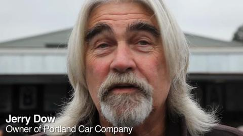 Portland car dealer Jerry Dow goes to car auction